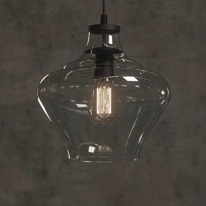 3D mccarthy light glass pendant