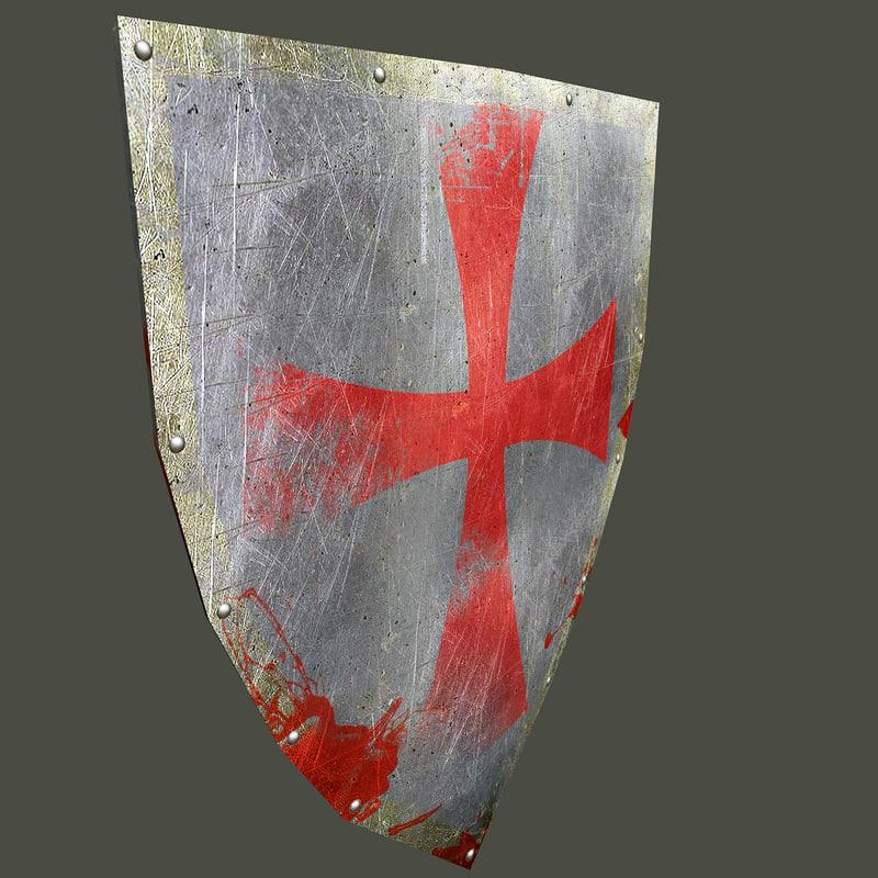 shield gaming 3D model