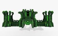 gate atom 3D
