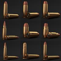 pistol smg revolver s w 3D model