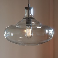 3D mccarthy light glass pendant model