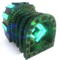 3D model generator atom