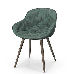 calligaris igloo soft chair 3D