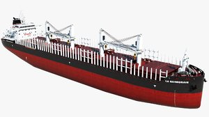 cargo vessel la guimorais 3D model