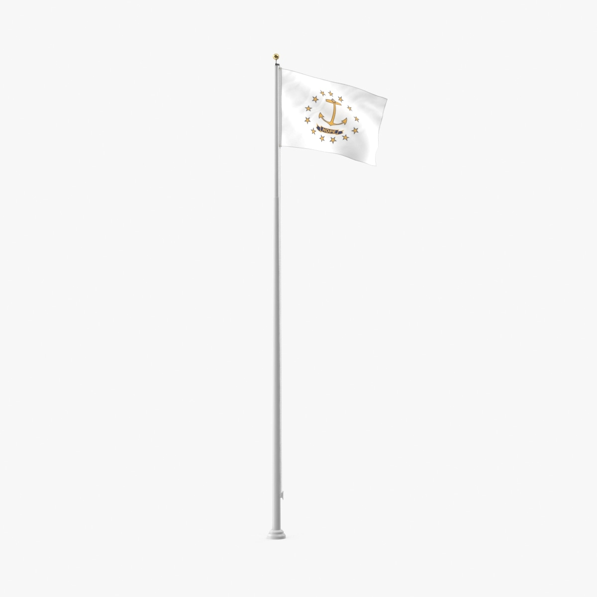 3D state-flags---rhode-island model