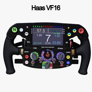 3D steering wheel 1