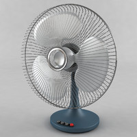 table fan 3D