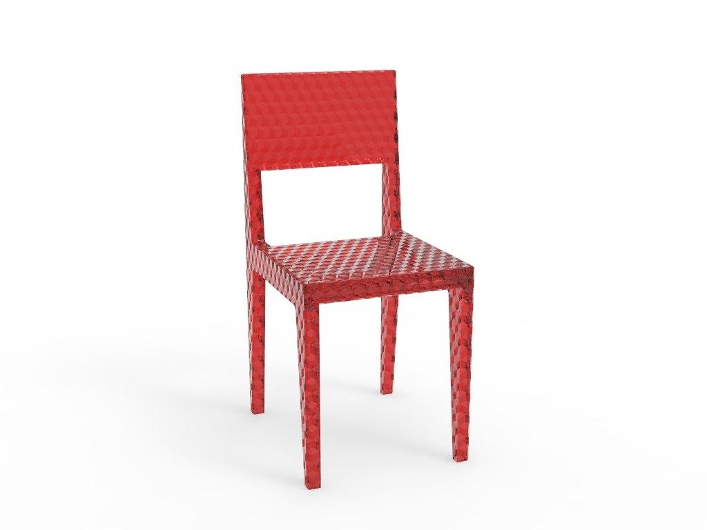 3D basic chair model
