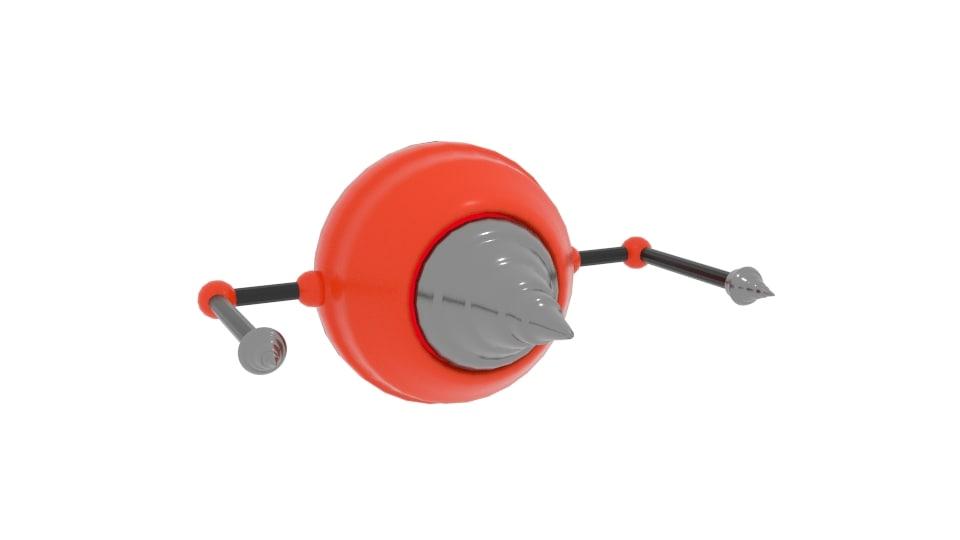 drill drone 3D model