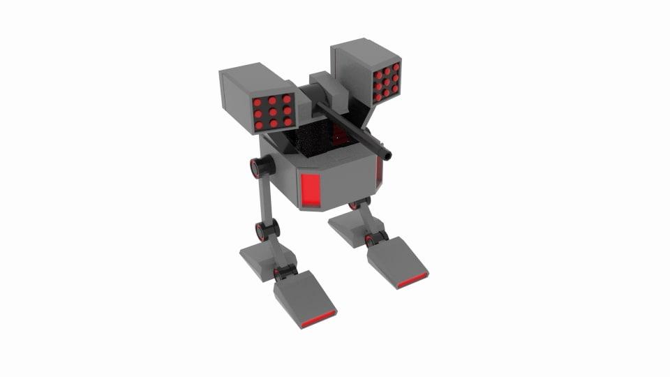 3D mech robox