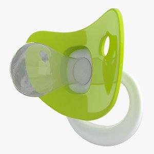 3D model pacifier 02