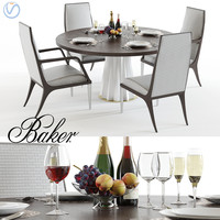 baker heliodor table jasper 3D