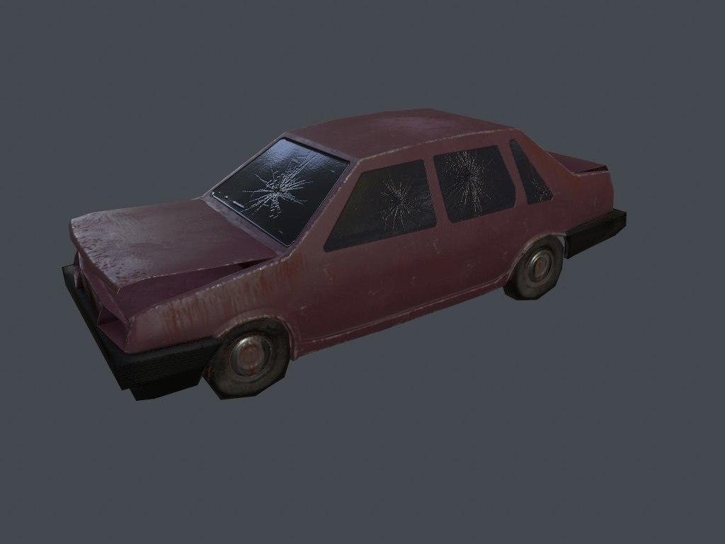 Car Vaz 2109 Abandoned