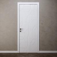 3D door blanc ottagono inner2