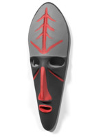 3D model african mask africa