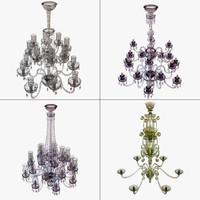 set chandelier 3D model