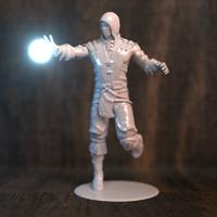 scorpion printer 3D model