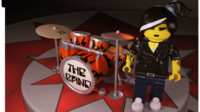 Lego Drum Woman
