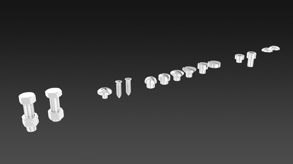 3D screws
