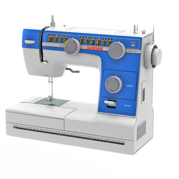 sewing-machine janome model