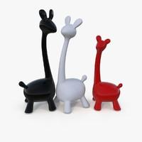 Giraffes Statuette