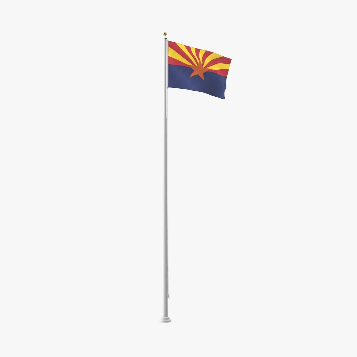 3D state-flags---arizona model