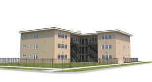 apartment house 3D