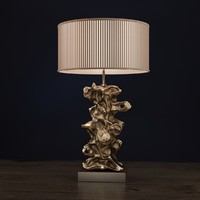 Libero Gold Table Lamp Lui's Collection