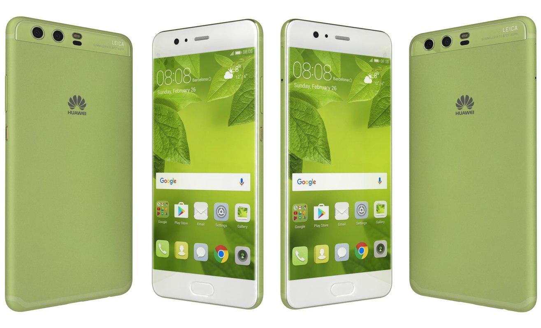 huawei p10 greenery 3D
