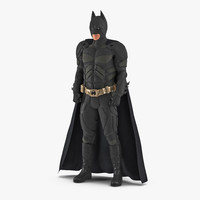 Batman Standing Pose 3D Model