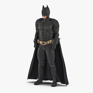 3D batman standing pose model