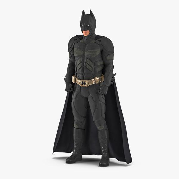 3D batman standing pose model