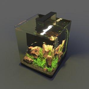 nano aquarium 3D model
