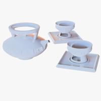 3D teapot