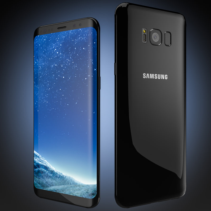 flagship smartphone samsung galaxy 3D model