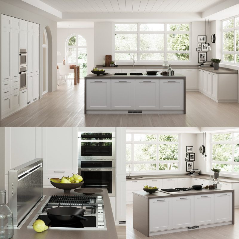 3D model kitchen scavolini