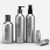 Cosmetic Aluminum Bottles