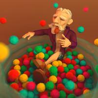 barend man 3D model