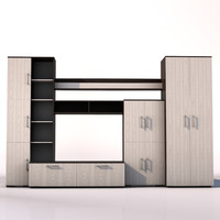 3D furniture wall malta model