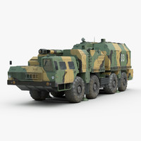 3D model russian a222 bereg coastal