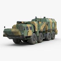 3D model russian a222 bereg coastal