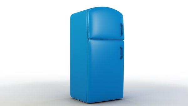cartoon refrigerator model