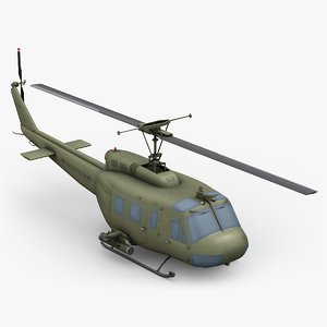 huey bell 3D model