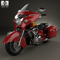 3D model indian chieftain 2015