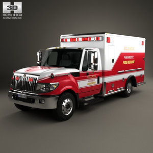 international terrastar ambulance model