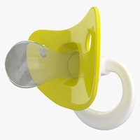 3D pacifier 03 model