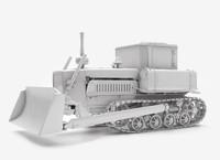 3D soviet tractor
