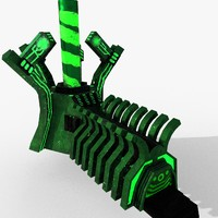 emissive factory 3D model