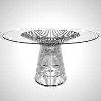 warren platner dining table 3D model