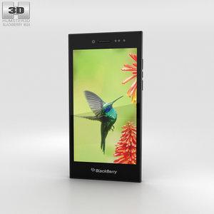 blackberry leap black 3D model